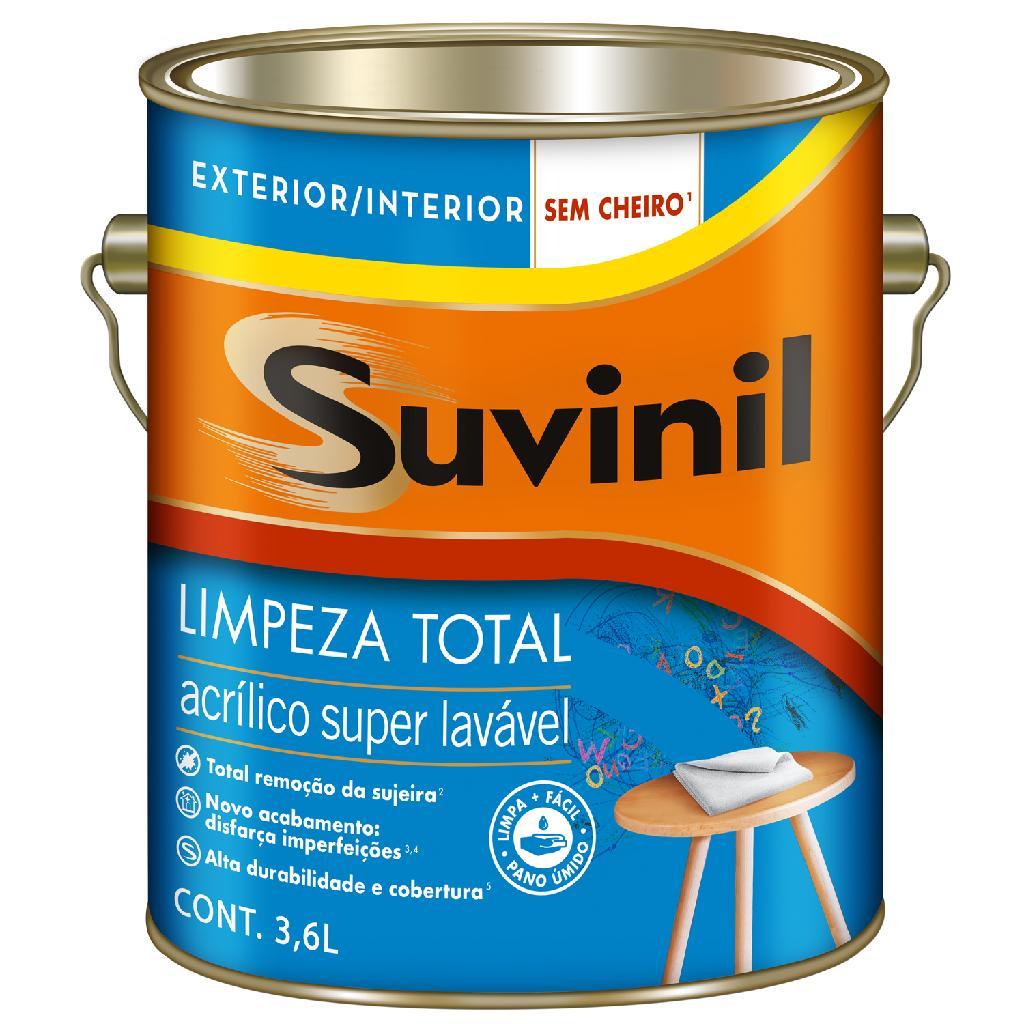 Tinta Acrílica 18lts Limpeza Total Palha Suvinil - Balaroti 066cb159882