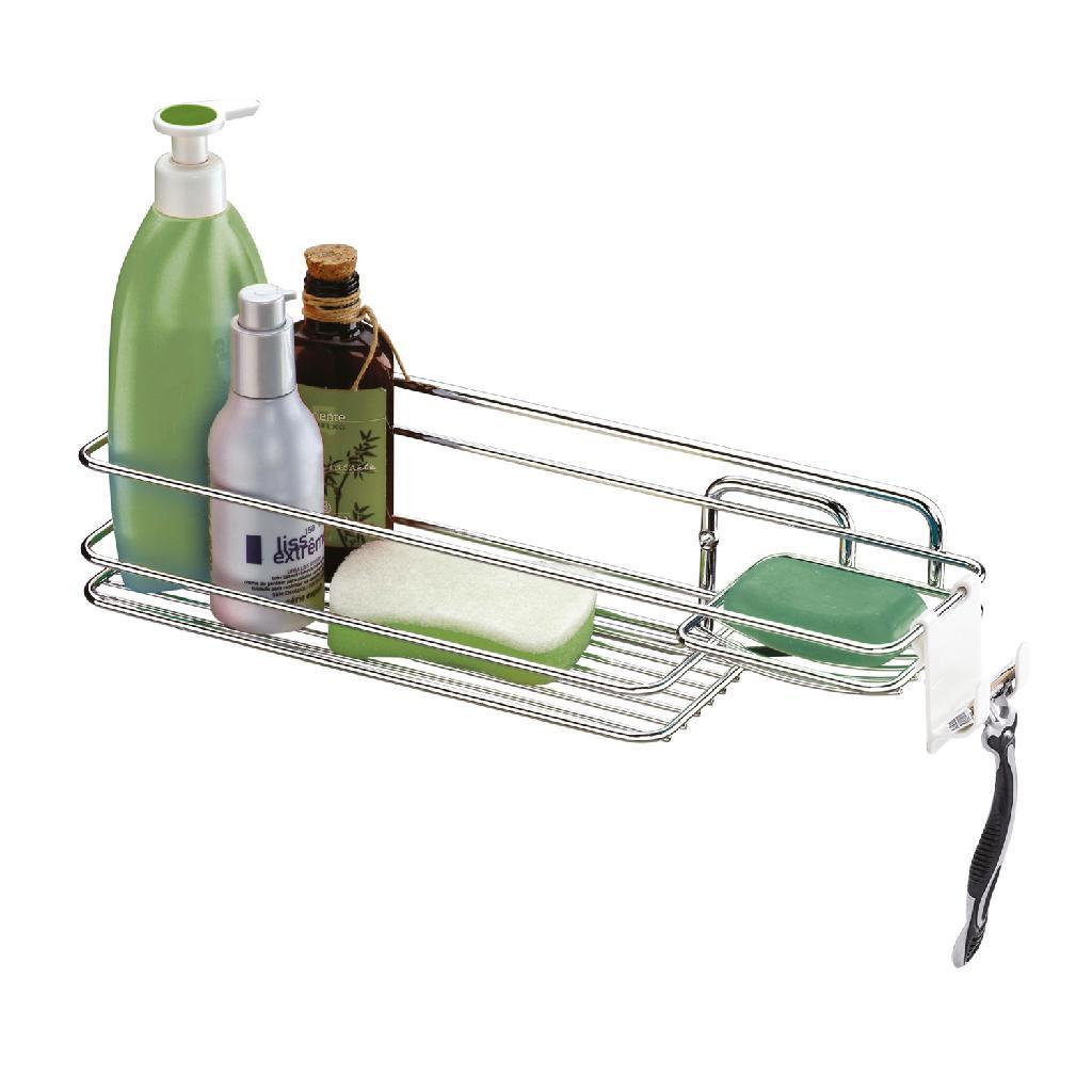 Suporte p  Shampoo e Sabonete de Parede Future - Balaroti 20a6e56636d7